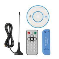 TV Empfänger Tuner Stick DVB-T SDR + DAB + FM HDTV Digitaler USB 2.0 RTL2832U + R820T2