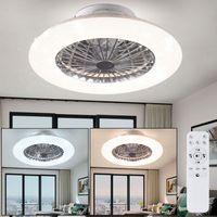LED Deckenventilator, Sterneneffekt, Fernbedienung, STRALSUND