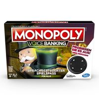 Hasbro Brettspiel Monopoly Voice Banking