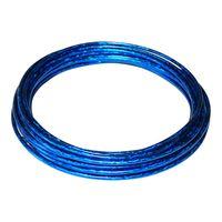 Bremszughülle bowdenzug bremszug hüllen blau teflon 5mm länge 3m kabelgehäuse fahrrad