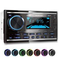 XOMAX XM-2R422 Autoradio mit Bluetooth, USB und AUX-IN