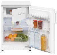 Exquisit Unterbau-Kühlschrank UKS 115-15  | 86L(73/13)L Fassungsvermögen | Energieeffizenz+ | Weiß