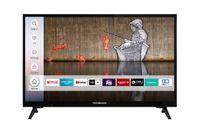 Techwood H24T60F 24 Zoll Fernseher/Smart TV (HD Ready, Triple-Tuner, HDR) - 6 Monate HD+ inklusive