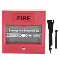 Not-Auslöser-Glasbruch-Alarmknopf Feueralarmschalter Glasbruch-Auslöseschalter