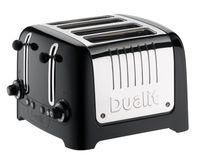 Dualit Toaster Lite Schwarz 4 Schlitze