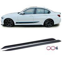 Seitenschweller Sport Optik Schwarz Matt für BMW 3er G20 Limousine ab 18