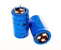 2x Elko 1000µF 100V 105°C Elektrolyt Kondensator (Ø40x25mm)  #714244