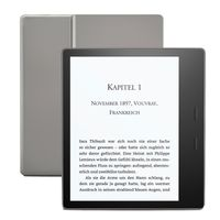 Amazon all new Kindle Oasis wifi 8GB Graphite 7' (300ppi) B07L5GDTYY inkl. Spezialangebote (Werbung), Farbe:Graphite