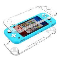 Schutzhülle für Nintendo Switch Lite 2019 Hartschale Hard Case Klar Schutz Cover Transparent Durchsichtig Etui Tasche