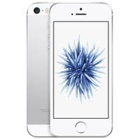 Apple iPhone SE Smartphone (4 Zoll (10,2 cm) Touch-Display, IOS) , IPhone Größe:16 GB, Farbe:Silber