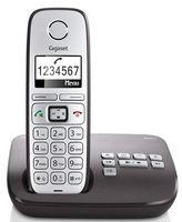 Gigaset E310A - Schnurlostelefon - Anrufbeantworter mit Rufnummernanzeige - DECTGAP - Anthrazit