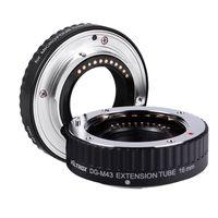 Viltrox DG-M43 Makro AF Erweiterung DG Rohr 10mm 16mm Ring Metallhalterung Verlaengerungsrohr fuer Micro M4 / 3 Kamera Olympus E-P1 E-P2 E-PL1 E-PL2 Panasonic G1 GF1