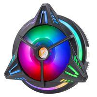 CPU Cooler Kühler RGB LED Kühlkörper Lüfter 3Pin Für Intel LGA 1150/1151 AMD