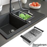 Bergström Einsatz für Küchenspülen Küchen-/Spüleneinsatz Siebeinsatz Sieb Spüle Küche