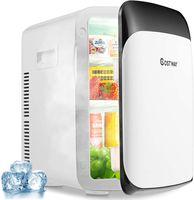 COSTWAY 15L Mini Kühlschrank 2 in 1 Kühl- und Heizfunktion Kühler Wärmer -3℃50℃ Tragbarer Kühltruhe Getränkekühler ++