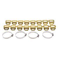 Motorrad Auspuffschalldämpferrohr Hitzeschildschutz für  R1200GS F800 F700  F 800 700 600 GS Farbe Gold