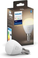 Philips Hue White LED E14 Tropfen P45, 5,7W, 2700 K, dimmbar, Bluetooth, Einzelpack