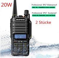 Baofeng UV-9R Plus 20W Upgrade-Version Funkgerät UKW UHF Walkie Talkie für CB Ham-2 Stücke