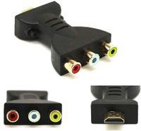 HDMI-Stecker auf 3 Cinch-Buchse Composite AV Audio Video Adapter TV-Konverter