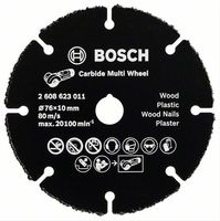 Trennscheibe Hartmetall Multi Wheel Ø 76mm Bosch Akku-Winkelschleifer