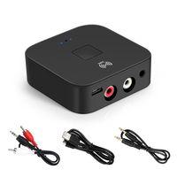 V5.0 Bluetooth Audio Empfänger Aux + 2RCA Schnittstelle Mobiltelefon NFC WLAN Adapter