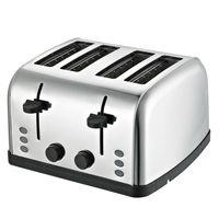 Daewoo SYM-1304: Breiter Toaster aus Edelstahl - 4 Schubladen, 4 Scheiben?