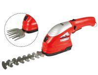 Grizzly Tools Akku Gras- und Strauchscheren-Set AGS 3680-2 D-Lion - inkl. Akku und Ladegerät