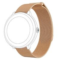 topp - Armband Samsung/Garmin/Huawei Watch, Mesh, rosegold