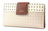 FOSSIL Logan RFID Tab Wallet Hearts