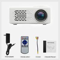 3D 1080p LED Mini Beamer 7000 Lumen Full HD Film Heimkino Projektor HDMI