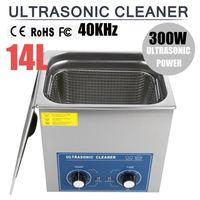 14L Ultraschallreiniger Reiniger Ultraschallgerät Ultraschallreinigungsgerät Timer Ultrasonic Cleaner mit Korb