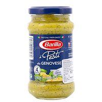 Barilla Pesto Genovese mit frischem Basilikum 3er Pack á 190 g