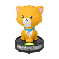 Fisher-Price Krabbel-mir-nach Saugroboter-Katze, Krabbel-Spielzeug, Lauflernhilfe