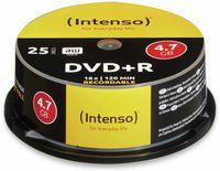 Intenso DVD+R Cake Box 16xSpeed 4,7GB 25ST