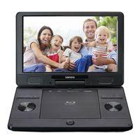 """Lenco BRP-1150BK - Tragbarer 11,5"""" Blu-ray - DVD-Player mit USB und SD, schwarz"""