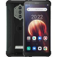"Blackview BV6600 IP68 Wasserdicht 8580mAh Robuste Smartphone Octa Core 4GB + 64GB 5.7""FHD Handy 16MP Kamera NFC Android 10, Schwarz"