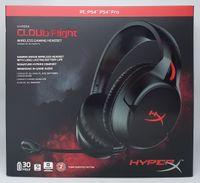 HyperX Cloud Flight Wireless Gaming Headset Over-Ear Kopfhörer PC Xbox One PS4 , Farbe:Cloud
