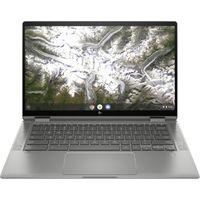 HP Chromebook x360 (14c-ca0350ng) 128 GB eMMC / 8 GB - Notebook - mineral silver