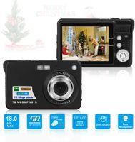 Digitalkamera mit 8x Digitalzoom Digitalkamera Geschenkkamera Digitalkamera für Kinder, 92,2x60,2x14MM, schwarz