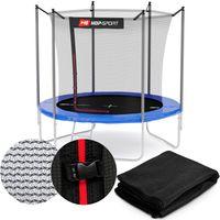 Hop-Sport Sicherheitsnetz 305 cm für 6 Stangen Ersatznetz innenliegend für Gartentrampolin 3,05m Trampolinnetz 10FT Ersatzteil Innennetz