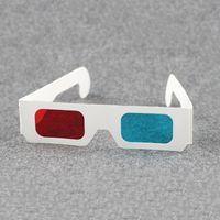 Gemeinsamer Verpackungshersteller Großhandel Einweg-Papier 3D-Brille 3D-Brille Papier Brille