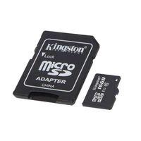 Kingston Micro SDHC Class 10 microSDHC Speicherkarte, 16 GB, Speichermedium SD Karte Card micro microSD Flash  bis zu 80MB/s UHS-I