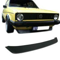 Frontspoiler GTI Lippe Spoilerlippe VW Golf Jetta 1 inkl. Caddy Spoiler schwarz