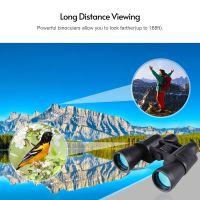 20X50 HD Fernglas Teleskop Leben Wasserdicht mit Tragetasche fuer Konzertsportveranstaltungen Vogelbeobachtung Wildtiere Beobachten Camping Wandern