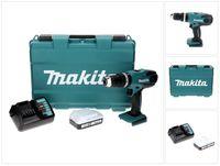 Makita HP 457 DW ( G-Serie ) Akku Schlagbohrschrauber 18 V 42 Nm + 1x Akku 1,5 Ah + Ladegerät + Koffer