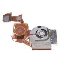 Laptops CPU-Lüfter mit Kühlkörper 3-Polig Stromanschluss Laptop-Lüfter für Lenovo IBM T500 W500-Serie (1 Stück)