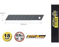 OLFA LBB 50 18mm Excel Black Klingen, 50 Stück