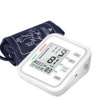 Automatisches elektronisches Oberarm-Blutdruckmessgerät mit großem LCD-Display Digitales intelligentes Blutdruckmessgerät