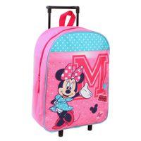 Minnie & Mickey Mouse Trolley Koffer Disney Mickey Mouse Trolley Kinderkoffer - Rosa