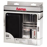 """Hama Starter-Set """"10in1"""" für Nintendo 3DS, Schwarz"""